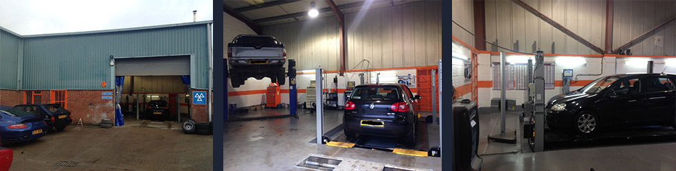 Vehicle servicing from Beenham Garage